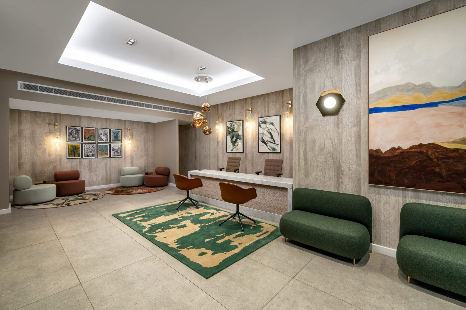 The Lincoln Suites - Lobby